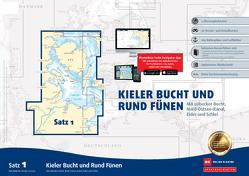 Sportbootkarten Satz 1: Kieler Bucht und Rund Fünen (Ausgabe 2021) von Agency,  Danish Geodata