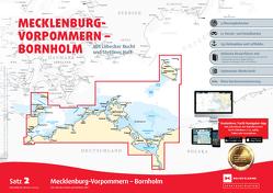 Sportbootkarten Satz 2: Mecklenburg-Vorpommern – Bornholm (Ausgabe 2021)