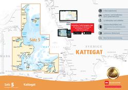 Sportbootkarten Satz 5: Kattegat (Ausgabe 2021)