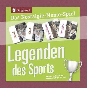 Legenden des Sports – Das Memo-Spiel für Senioren von Verlag,  SingLiesel