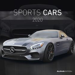 Sports Cars 2020 – Broschürenkalender (30 x 60 geöffnet) – Wandkalender – Sportwagen – Autokalender – Fahrzeuge – Wandplaner von ALPHA EDITION