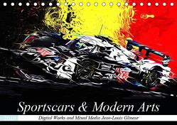 Sportscars & Modern Arts (Tischkalender 2019 DIN A5 quer) von Glineur alias DeVerviers,  Jean-Louis