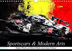 Sportscars & Modern Arts (Wandkalender 2019 DIN A4 quer) von Glineur alias DeVerviers,  Jean-Louis