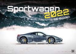 Sportwagen – PS-Boliden – 2022 – Auto – Kalender DIN A3