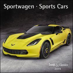 Sportwagen Sports Cars 2019 – Broschürenkalender – Wandkalender – mit herausnehmbarem Poster – Format 30 x 30 cm von DUMONT Kalenderverlag