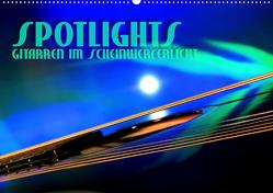 SPOTLIGHTS – Gitarren im Scheinwerferlicht (Wandkalender 2020 DIN A2 quer) von Bleicher,  Renate