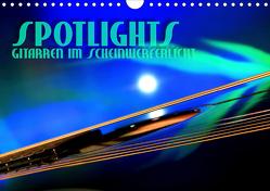 SPOTLIGHTS – Gitarren im Scheinwerferlicht (Wandkalender 2020 DIN A4 quer) von Bleicher,  Renate