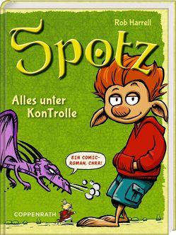 Spotz (Bd. 1) von Haefs,  Gabriele, Harrell,  Rob