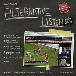 SPOX – Alternative Listen 2008/2009 von Kucharski,  Oliver, Moser,  Stefan