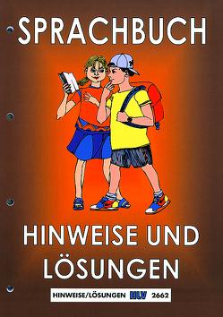 Sprachbuch Unterstufe / Kommentar von Nyffeler,  Kurt