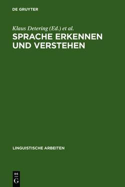 Sprache erkennen und verstehen von Detering,  Klaus, Schmidt-Radefeldt,  Jürgen, Sucharowski,  Wolfgang