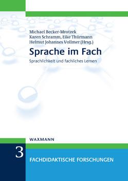 Sprache im Fach von Becker-Mrotzek,  Michael, Schramm,  Karen, Thürmann,  Eike, Vollmer,  Helmut Johannes