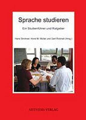 Sprache studieren von Müller,  Horst M., Rickheit,  Gert, Strohner,  Hans