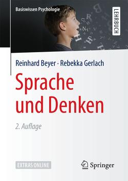 Sprache und Denken von Beyer,  Reinhard, Gerlach,  Rebekka