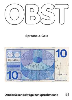 Sprache und Geld von Schmitz,  Ulrich, Voßkamp,  Patrick