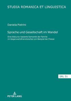 Sprache und Gesellschaft im Wandel von Pietrini,  Daniela