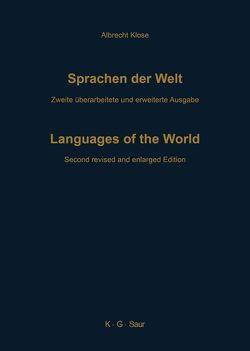 Sprachen der Welt von Klose,  Albrecht