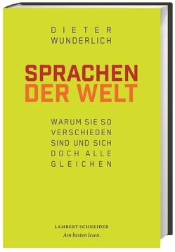 Sprachen der Welt von Wunderlich,  Dieter