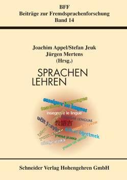 Sprachen Lehren von Appel,  Joachim, Jenk,  Stefan, Mertens,  Jürgen
