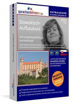 Sprachenlernen24.de Slowakisch-Aufbau-Sprachkurs von Gollub,  Udo