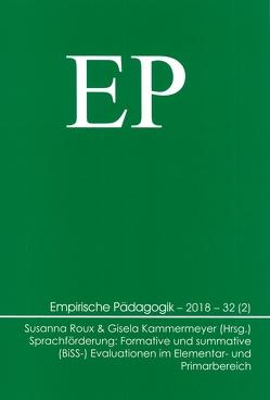 Sprachförderung: Formative und summative (BiSS-) Evaluationen im Elementar- und Primarbereich von Kammermeyer,  Gisela, Roux,  Susanna