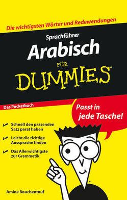 Sprachführer Arabisch für Dummies Das Pocketbuch von Bouchentouf,  Amine, Seitz,  Clara