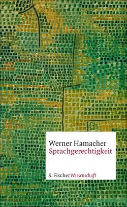 Sprachgerechtigkeit von Hamacher,  Werner