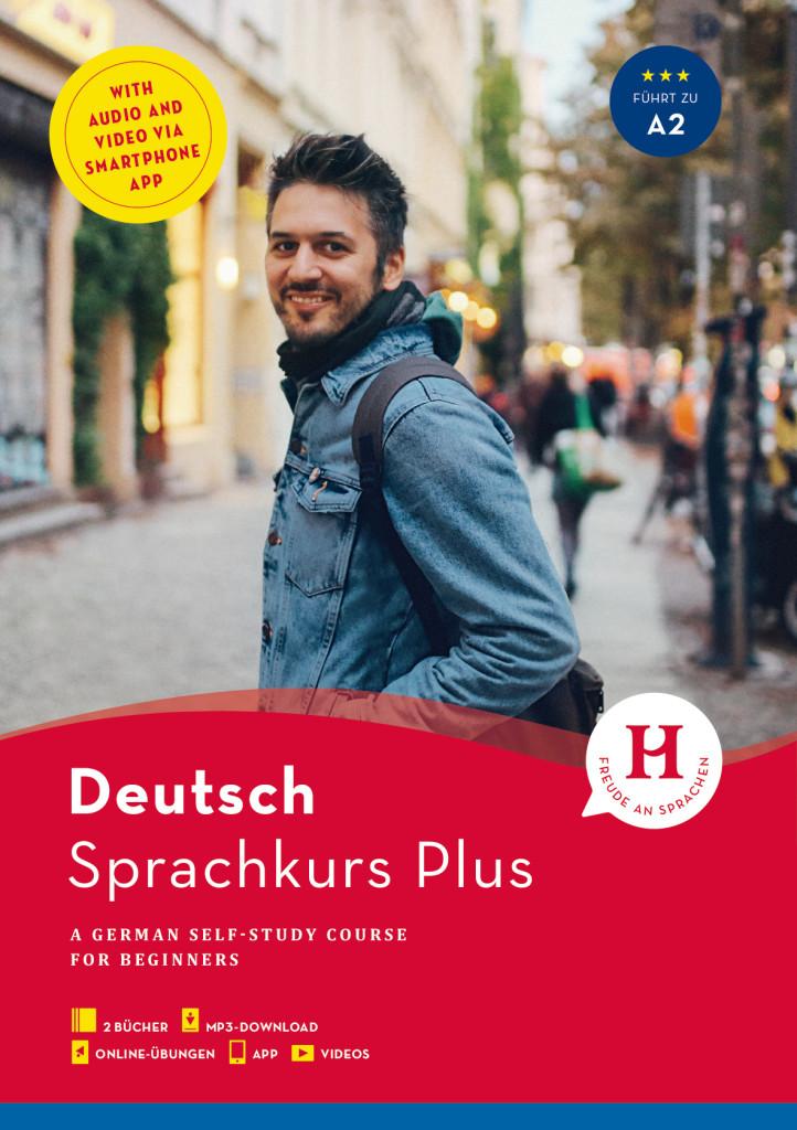 hueber sprachkurs plus deutsch a1 a2 englische ausgabe. Black Bedroom Furniture Sets. Home Design Ideas