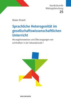 Sprachliche Heterogenität im gesellschaftswissenschaftlichen Unterricht von Brandt,  Hanne