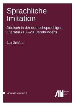 Sprachliche Imitation von Schäfer,  Lea