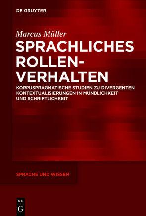 Sprachliches Rollenverhalten von Müller,  Marcus
