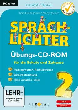 Sprachlichter 2. Übungs-CD-ROM (EL – Einzellizenz) von Badegruber,  Bernd, Steiner,  Margit