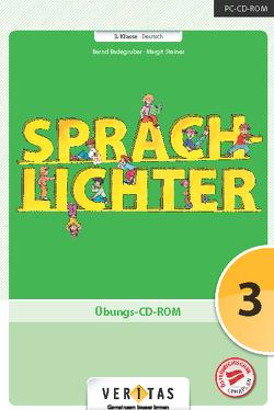 Sprachlichter 3. Übungs-CD-ROM (EL – Einzellizenz) von Badegruber,  Bernd, Steiner,  Margit