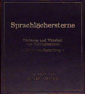 Sprachlöchersterne von Fritsch,  Herbert