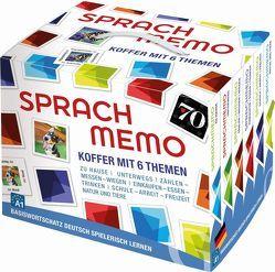 Sprachmemo Deutsch 2: Koffer mit 6 Themen von Grubbe Media