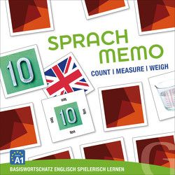 Sprachmemo Englisch: Count / Measure / Weigh von Grubbe Media