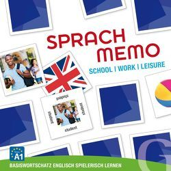 Sprachmemo Englisch: School / Work / Leisure von Grubbe Media