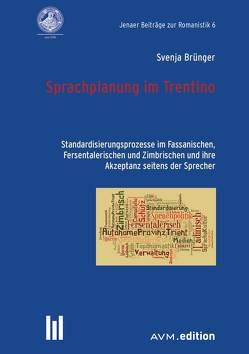 Sprachplanung im Trentino von Brünger,  Svenja