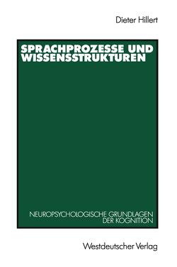 Sprachprozesse und Wissensstrukturen von Hillert,  Dieter