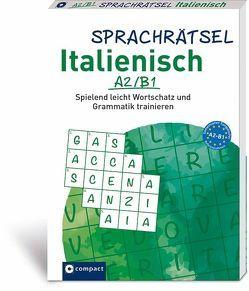 Sprachrätsel Ialienisch A2/B1 von Felici Puccetti,  Alessandra, KaSyX GmbH