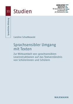 Sprachsensibler Umgang mit Texten von Schuttkowski,  Caroline