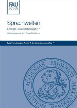 Sprachwelten: Vier Vorträge von Rudolf,  Freiburg