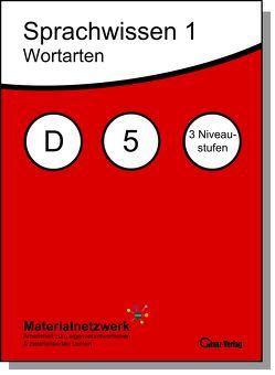 Sprachwissen 1, Wortarten, Deutsch 5, alle Niveaustufen