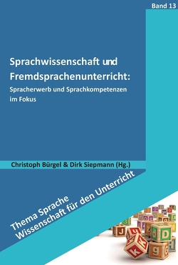 Sprachwissenschaft und Fremdsprachenunterricht: von Bürgel,  Christoph, Siepmann,  Dirk