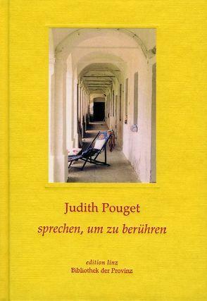 Sprechen, um zu berühren von Pouget,  Judith, Wall,  Richard