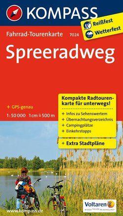 Spreeradweg von KOMPASS-Karten GmbH