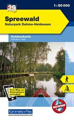 Spreewald Nr. 29 Outdoorkarte Deutschland 1:50 000