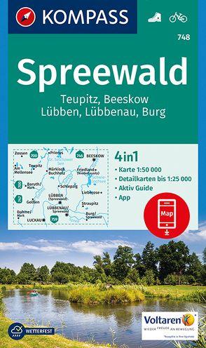 Spreewald, Teupitz, Beeskow, Lübben, Lübbenau, Burg von KOMPASS-Karten GmbH