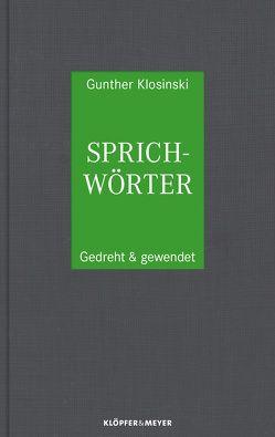Sprichwörter von Klosinski,  Gunther