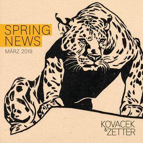 Spring News von Cieslar,  Sophie, Kovacek-Longin,  Claudia, Reiter,  Jenny, Rodler,  Stefan, Zetter-Schwaiger,  Sophie
